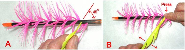 For Sale Beman 500 spin center shot arrows